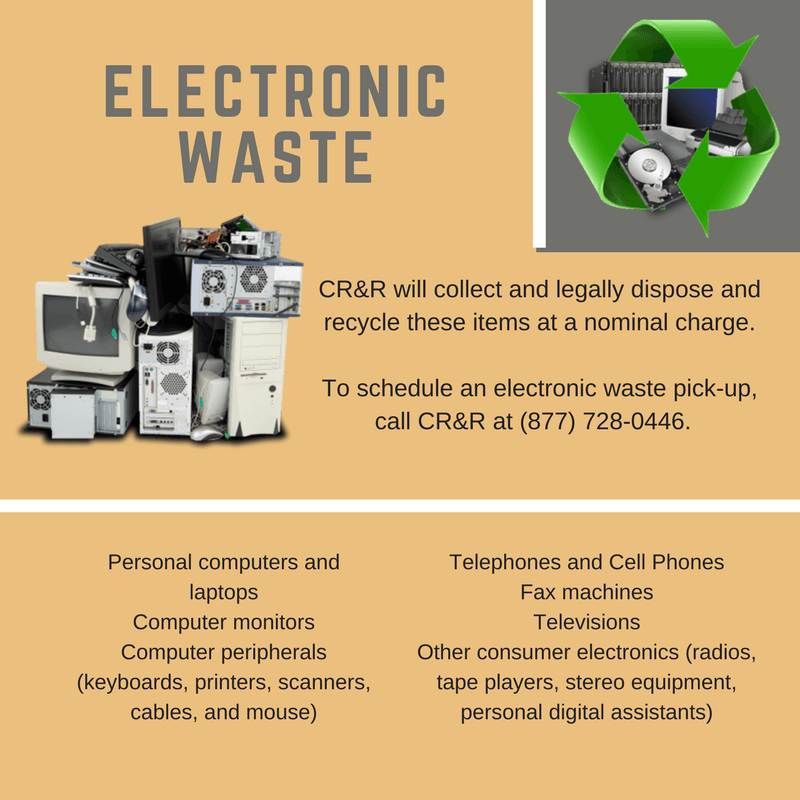 Electronic Waste Flyer