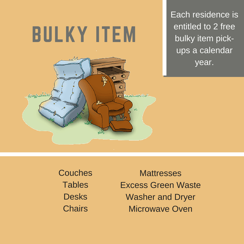 Bulky Items