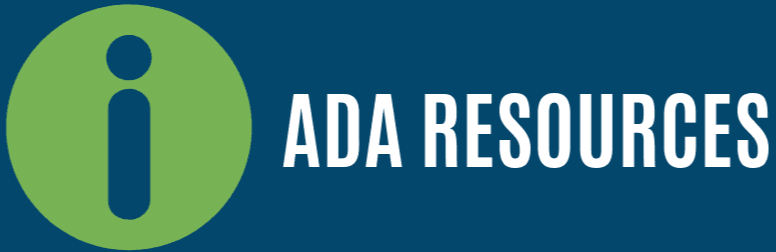 ADA Webpage Banner
