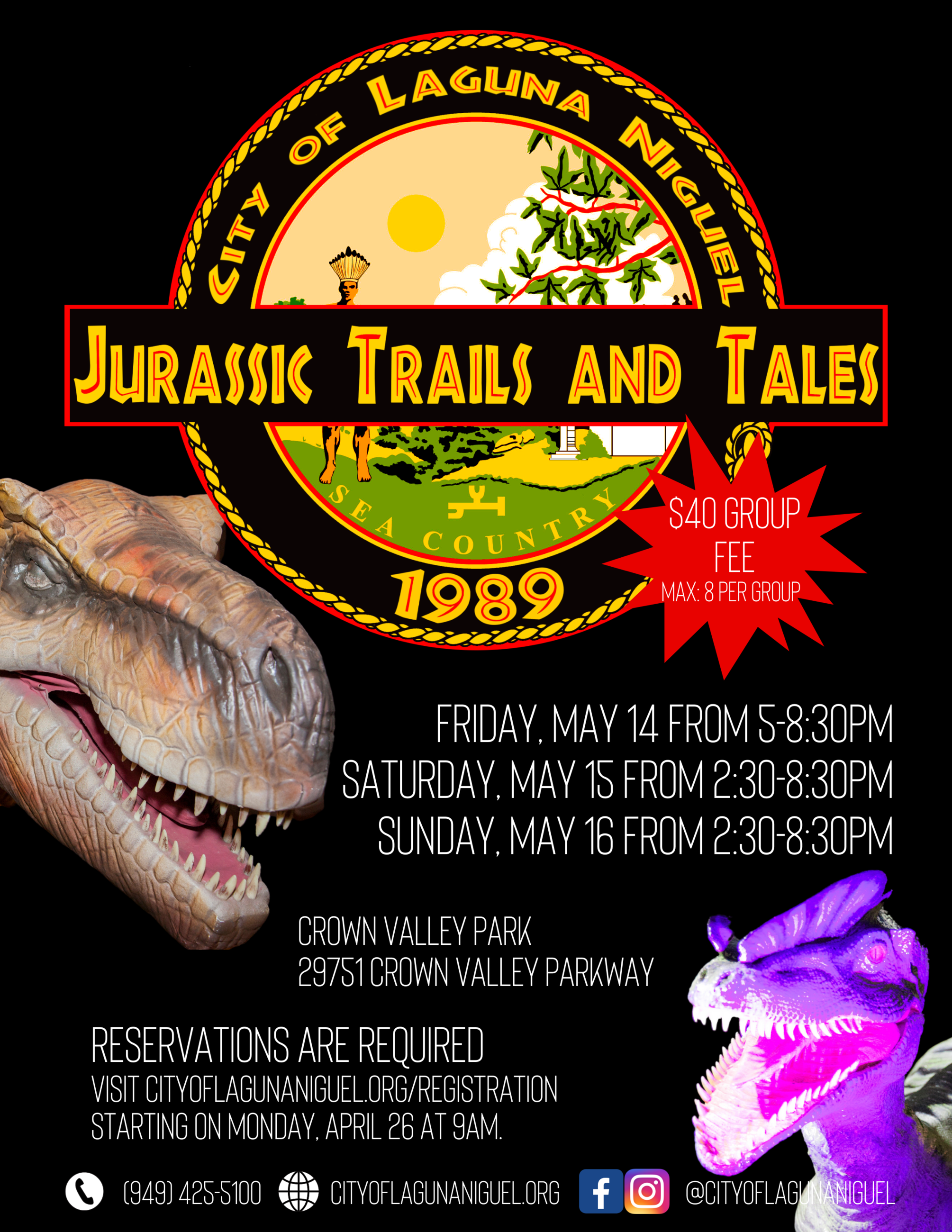 Jurassic Trails and Tales 2021