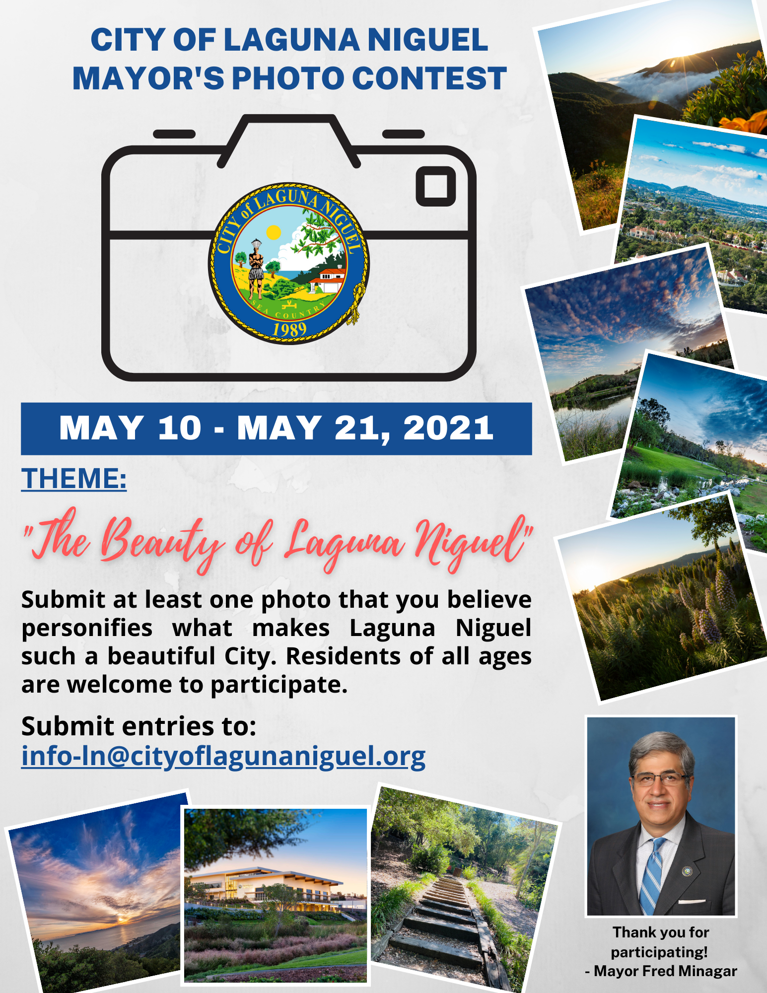 MAYOR'S PHOTO CONTEST